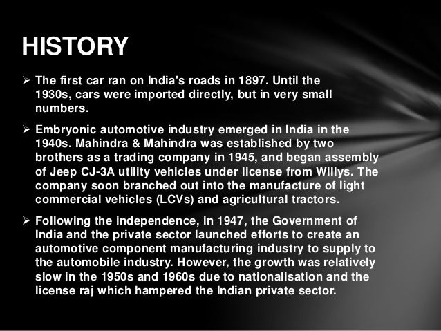 the american automotive industry essay The american auto industry had sprouted from henry ford and currently in its blooming stage but the issue with workers remained the same (wall 8) domestic demand.