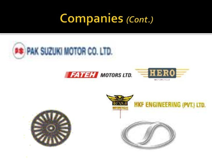 automobile industry of pakistan an An indian automobile industry analysis showed growth of 132% over fy5-12 visit & download pdf report, contains key statistics of the automobile sector in indi.