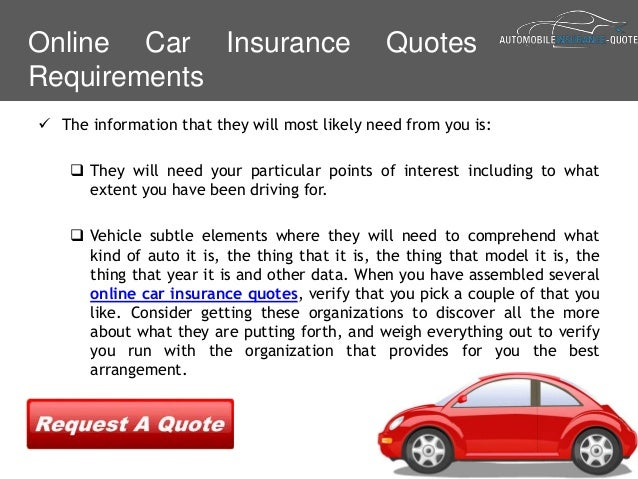How To Get Online Auto Insurance Quotes