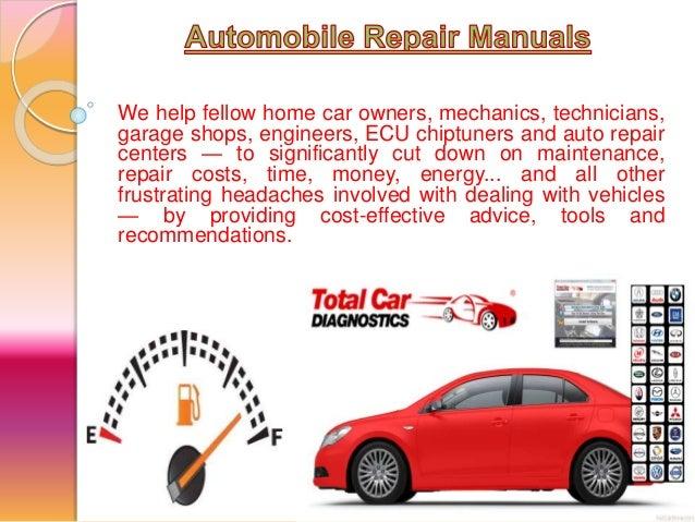 automobile repair manuals rh slideshare net Library Auto Repair Manuals Haynes Auto Repair Manuals
