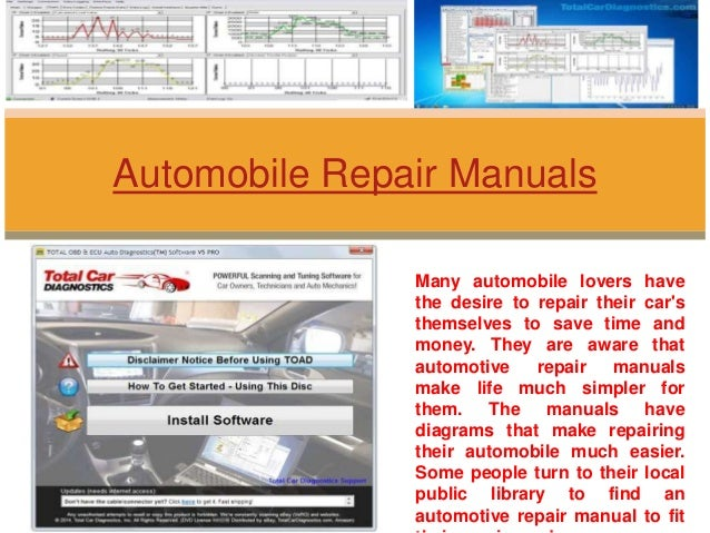 Many automobile lovers have the desire to repair their car's themselves to save time and money. They are aware that automo...