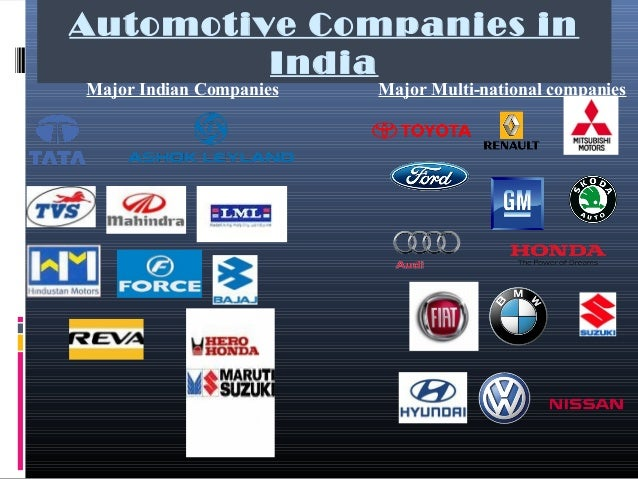 INDIAN AUTOMOBILE INDUSTRY 2016