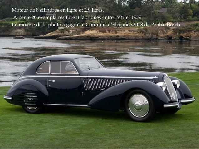 Automobiles avant - guerre Slide 3