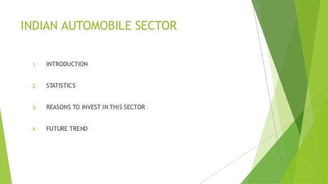 study on the automobile sector in Analysis of toyota motor corporation by thembani nkomo analyisis of toyota motor corporation table of contents 1 company overview 2 external environment of the automotive industry.