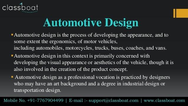 Automotive Design Courses In Pune