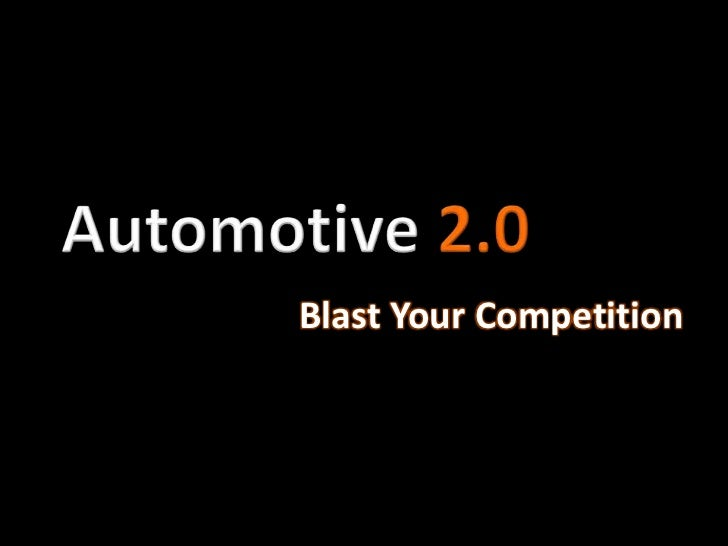 Blast Your Competition