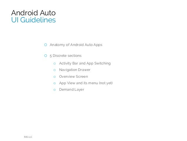 Automotive android