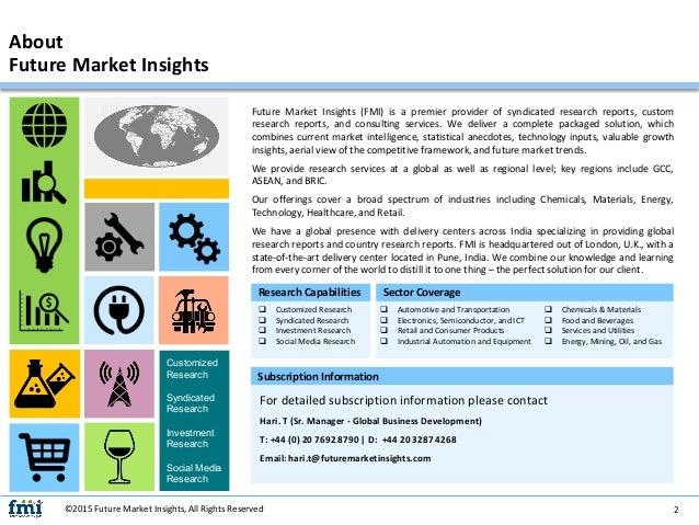 Automotive Brake Valves Market: Dynamics, Segments, Size and Demand, 2017 - 2027 Slide 2