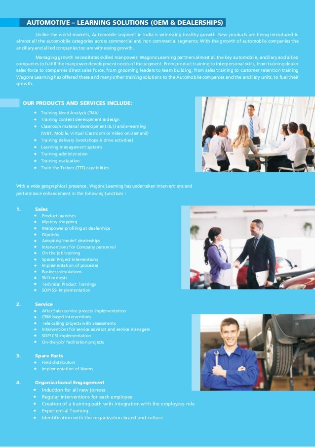 Automotive Training & Consulting Brochure