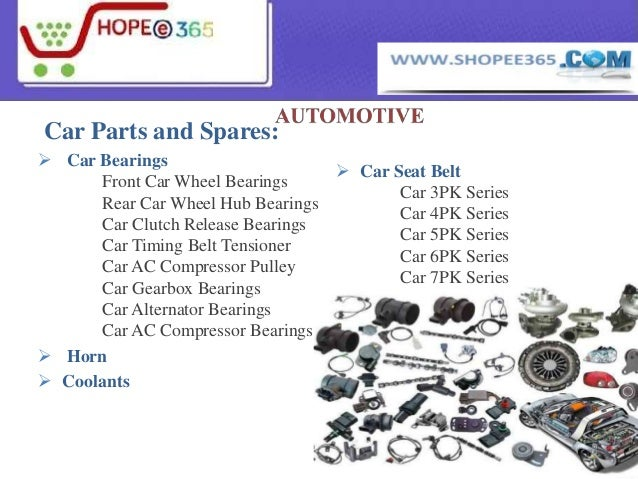 Automotive Car Body Parts And Mobile And Electronic Parts