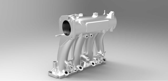 Automotive casting part in reverse engineering Slide 1