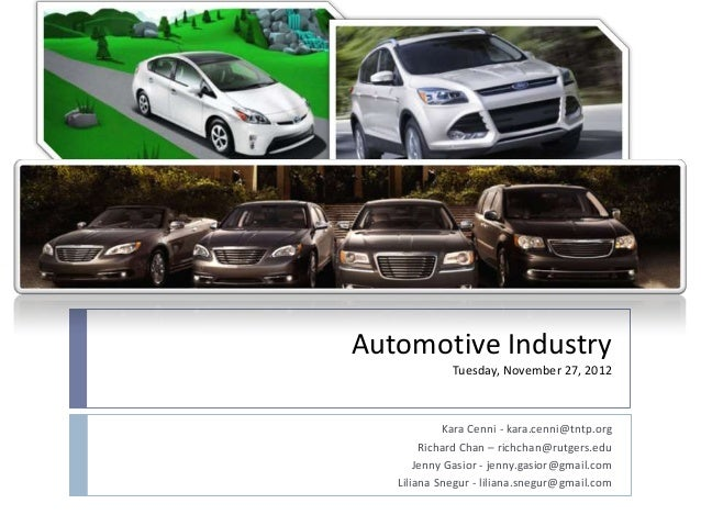 economic overview in auto industry essay Also the demand factor goes up when the economic the united states government cannot allow the auto industry to the auto retail industry can.