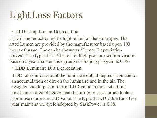 Light Loss Factors u2022 LLD ...  sc 1 st  SlideShare & Automotive lighting - Led road lighting azcodes.com