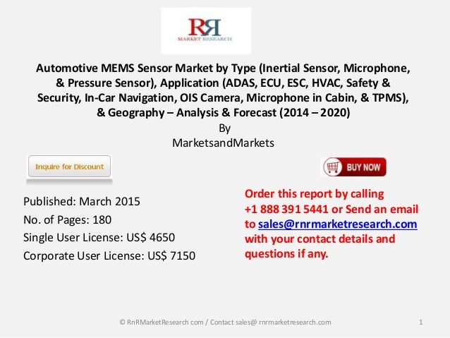 automotive sensors market 2020 global analysis Automotive sensors – advancing telematics in safety and controls published by : industryarc | published on : 2016-02-12 telematics comprises of telecommunication which involves the transfer of information from the on-board vehicle telematics sensors to a crash resistant black box.
