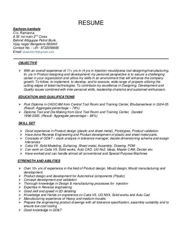 SlideShare  Product Designer Resume