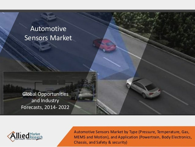 Automotive Sensors Market Global Opportunities and Industry Forecasts, 2014- 2022 Automotive Sensors Market by Type (Press...