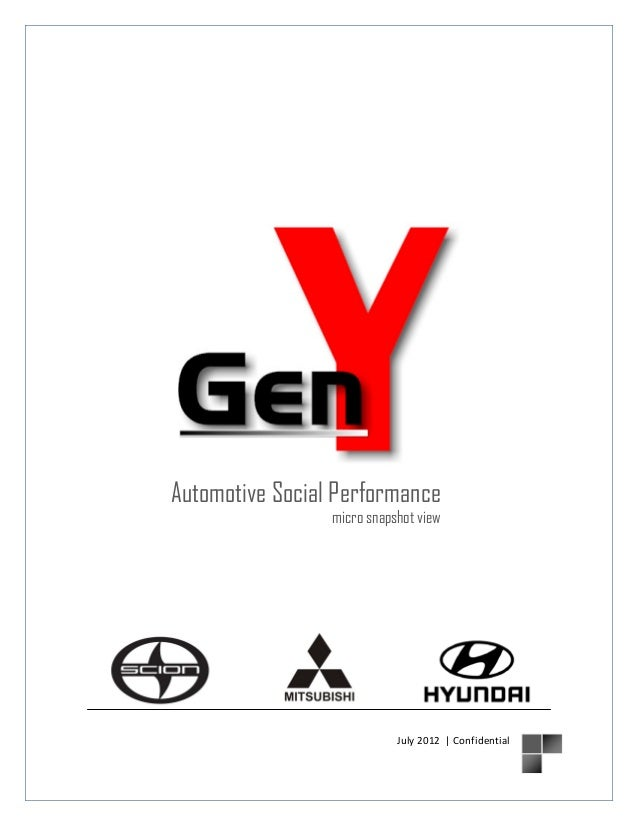 Automotive Social Performance  micro snapshot view  July 2012 | Confidential
