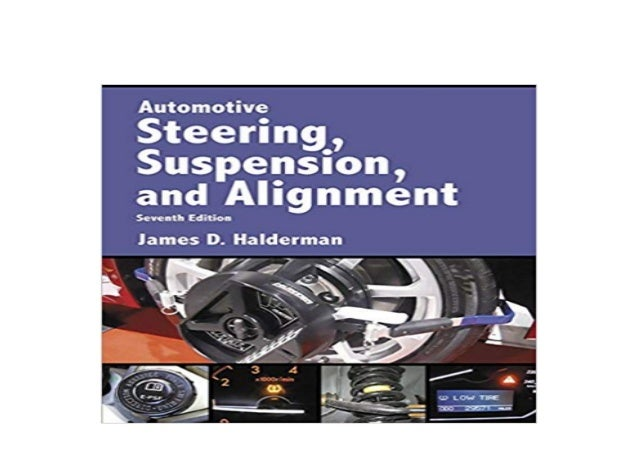 BOOK_HARCOVER LIBRARY Automotive Steering, Suspension ...