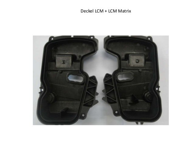 Deckel LCM + LCM Matrix