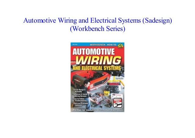 Automotive Wiring and Electrical Systems Manual Book SA160