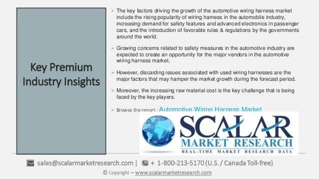 automotive wiring harness market automotive wiring harness market key benefits of the report 3