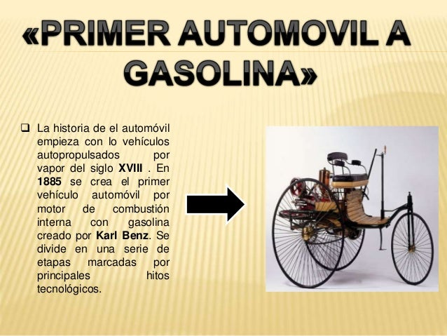 Historia de los autom viles 3 for Who invented the mercedes benz