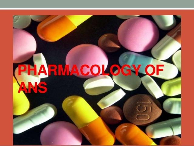 Autonomic nervous system pharma.. Slide 2