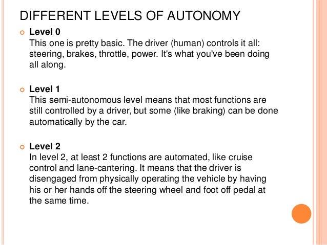 Autonomous driving system (ads)
