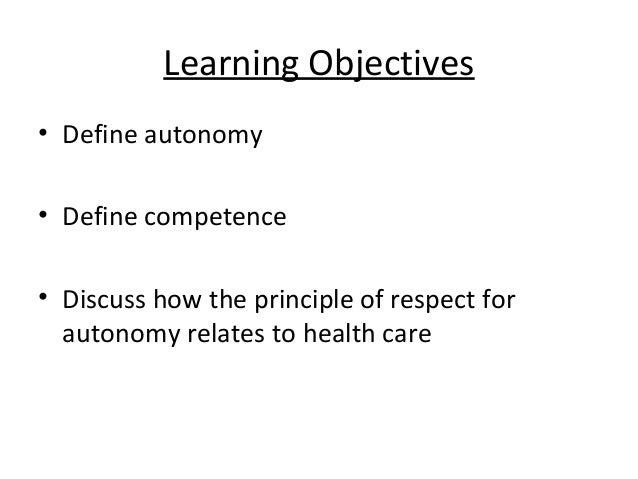 Autonomy Powerpoint