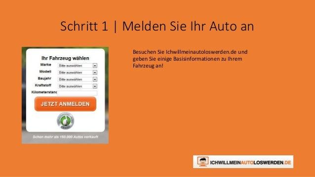 Auto ohne TÜV verkaufen - Ichwillmeinautoloswerden.de Slide 3