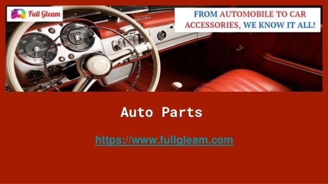 Auto Parts https://www.fullgleam.com