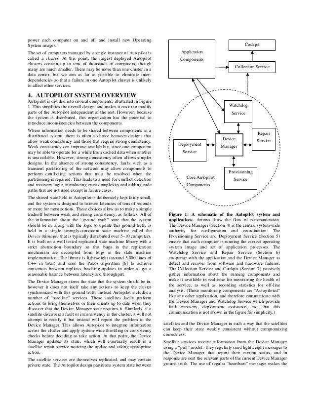 Autopilot Automatic Data Center Management