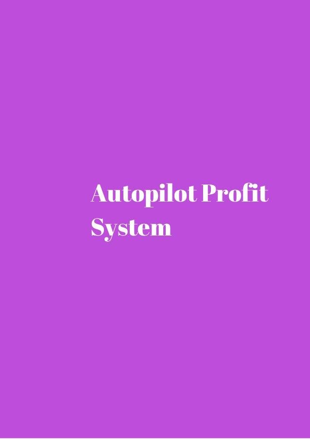 Autopilot Profit  System