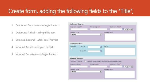 Auto pop Nintex form fields with a check box Slide 2