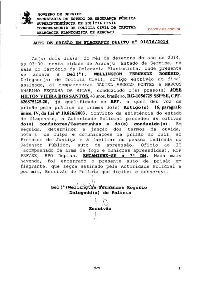 GOVERNO DE SERGIPE  SECRETÀRIÀ DE ESTÀDO DÀ SEGUNÀNçÀ PÚBLICÀ  S{'PERINÍEÌ{DÊ}ICIÀ DE POúÍCIÀ CIYÍL  COORDENÀDORIÀ DE POLÍ...