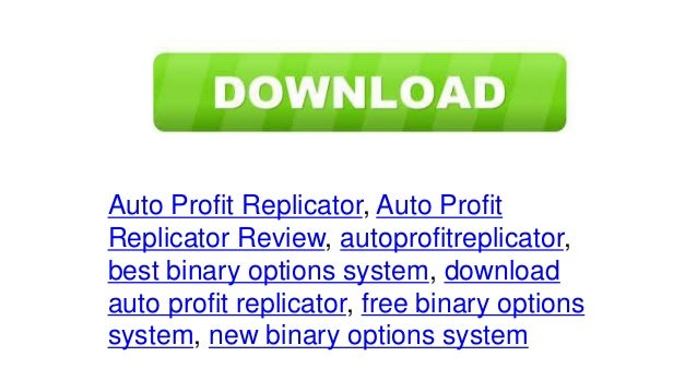 Binary option replicator