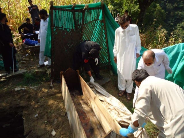 recent Exhumation of a Mummified body in Chakaisar opal shangla (after a period of 10 months )lapsetime)