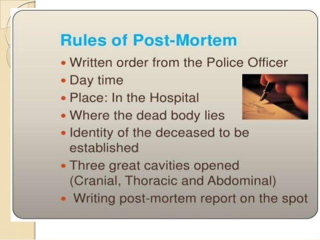 Autopsy by Dr Yaseen Mohammad for 3rd year students MBBS