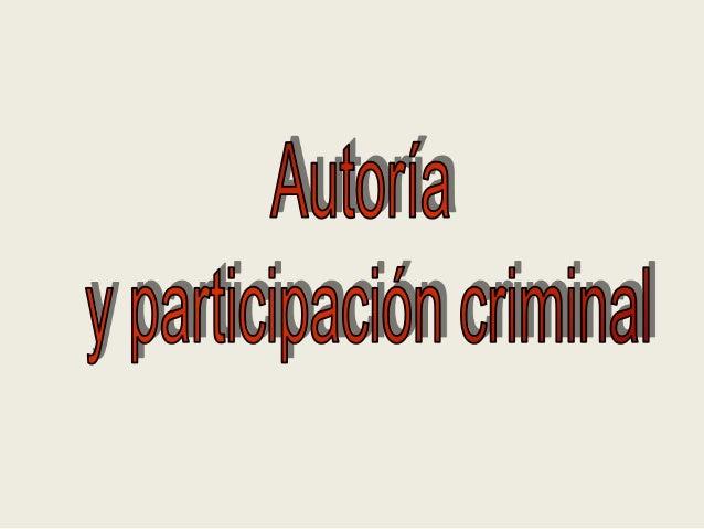 EN SENTIDO AMPLIO (A) PARTICIPACIÓN EN SENTIDO ESTRICTO (B)