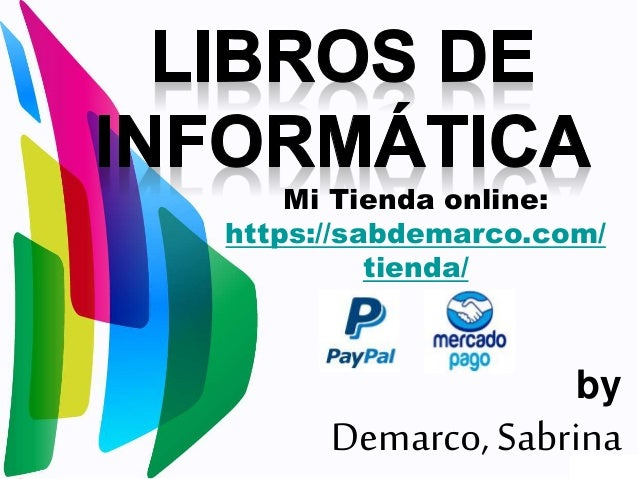 by Demarco, Sabrina Mi Tienda online: https://sabdemarco.com/ tienda/