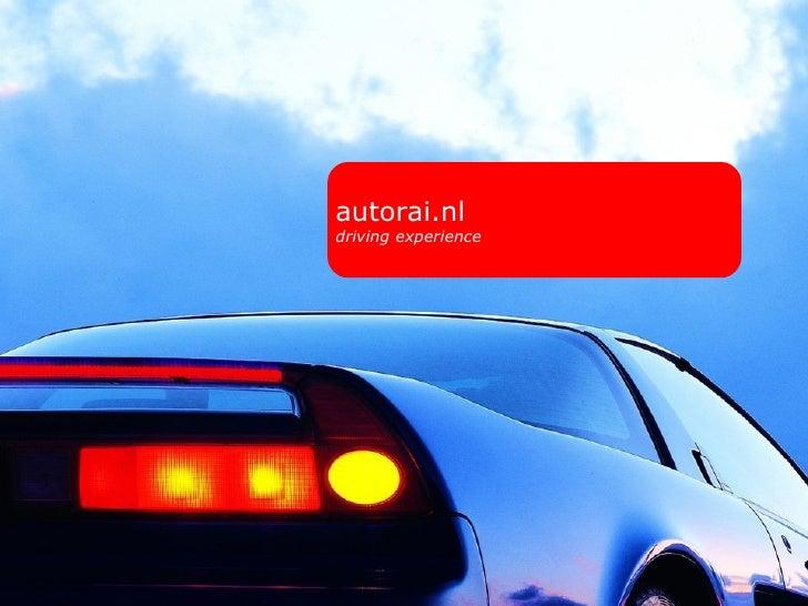 autorai.nl driving experience