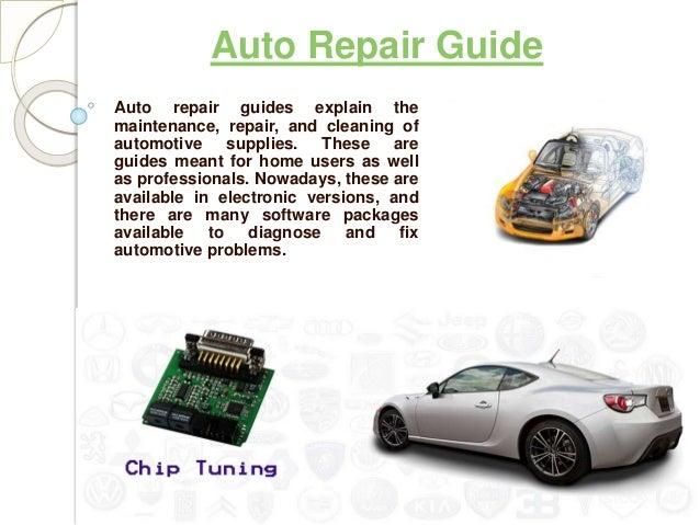 auto repair guide rh slideshare net car repair guide app car repair guide website