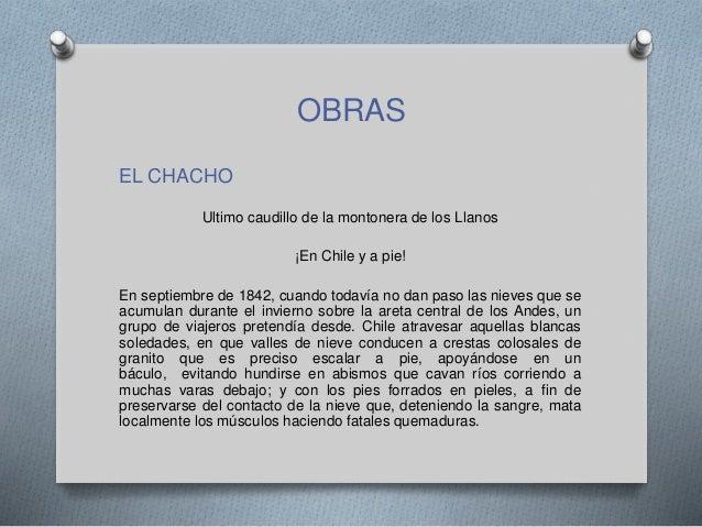 Autores del romanticismo hispanoamericano for Granitos nacionales argentinos