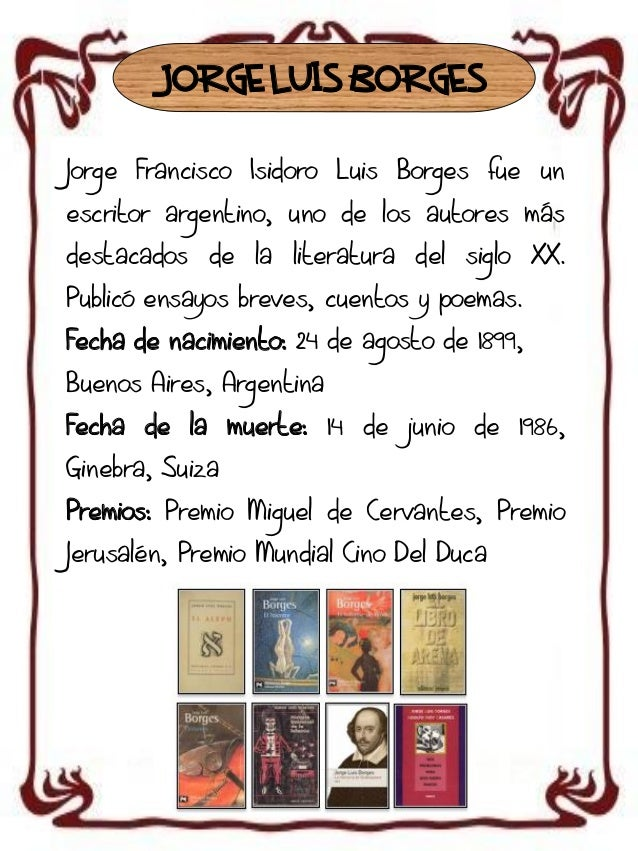 Autores y biografia Slide 3