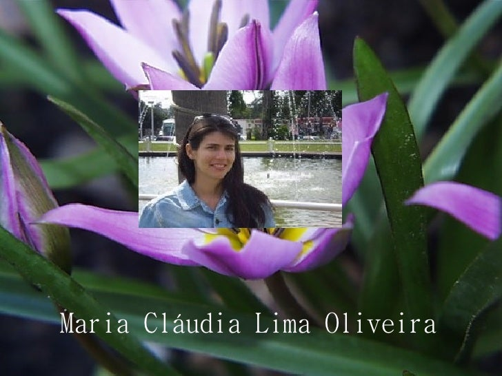 Maria Cláudia Lima Oliveira