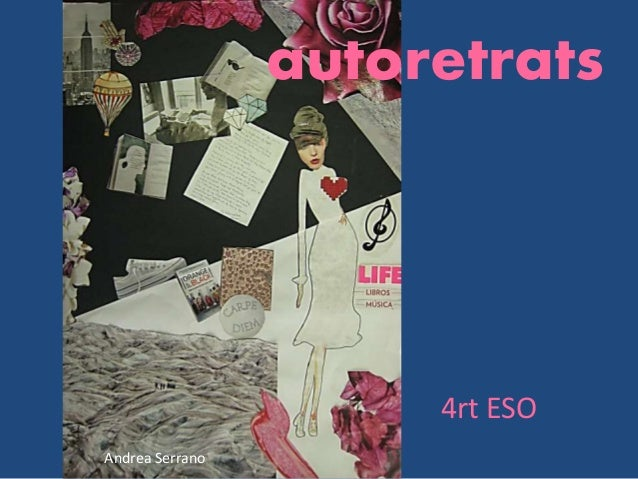 Andrea Serrano autoretrats 4rt ESO