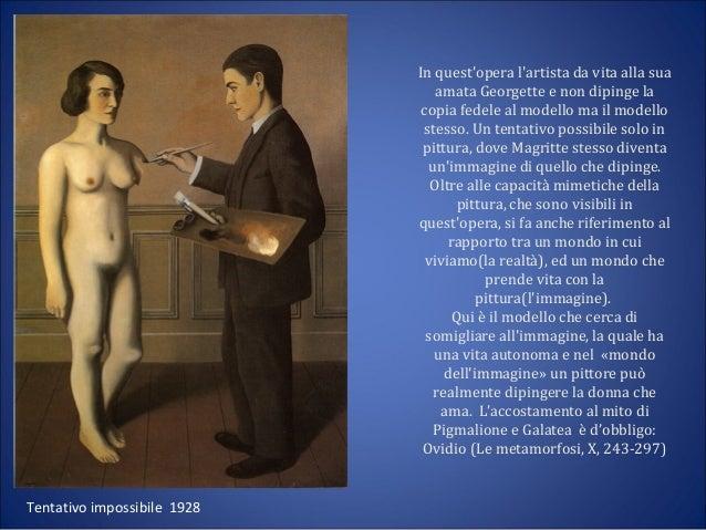 Autori surrealismo - Magritte uomo allo specchio ...