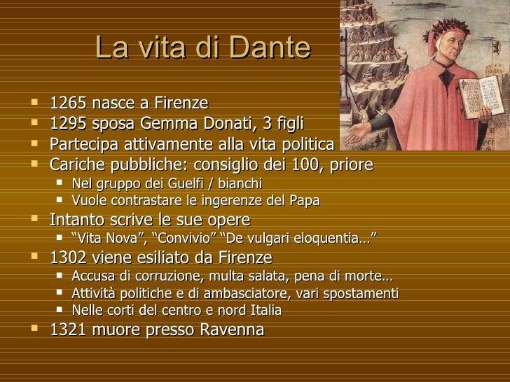Autori1300 Dante - Divina Commedia Slide 2