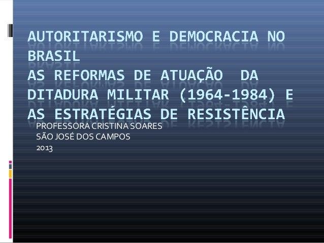 PROFESSORA CRISTINA SOARES SÃO JOSÉ DOS CAMPOS 2013