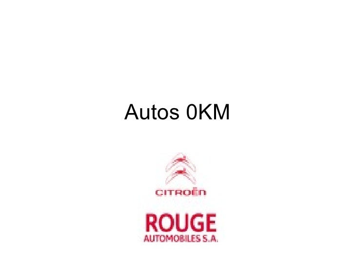 Autos 0KM